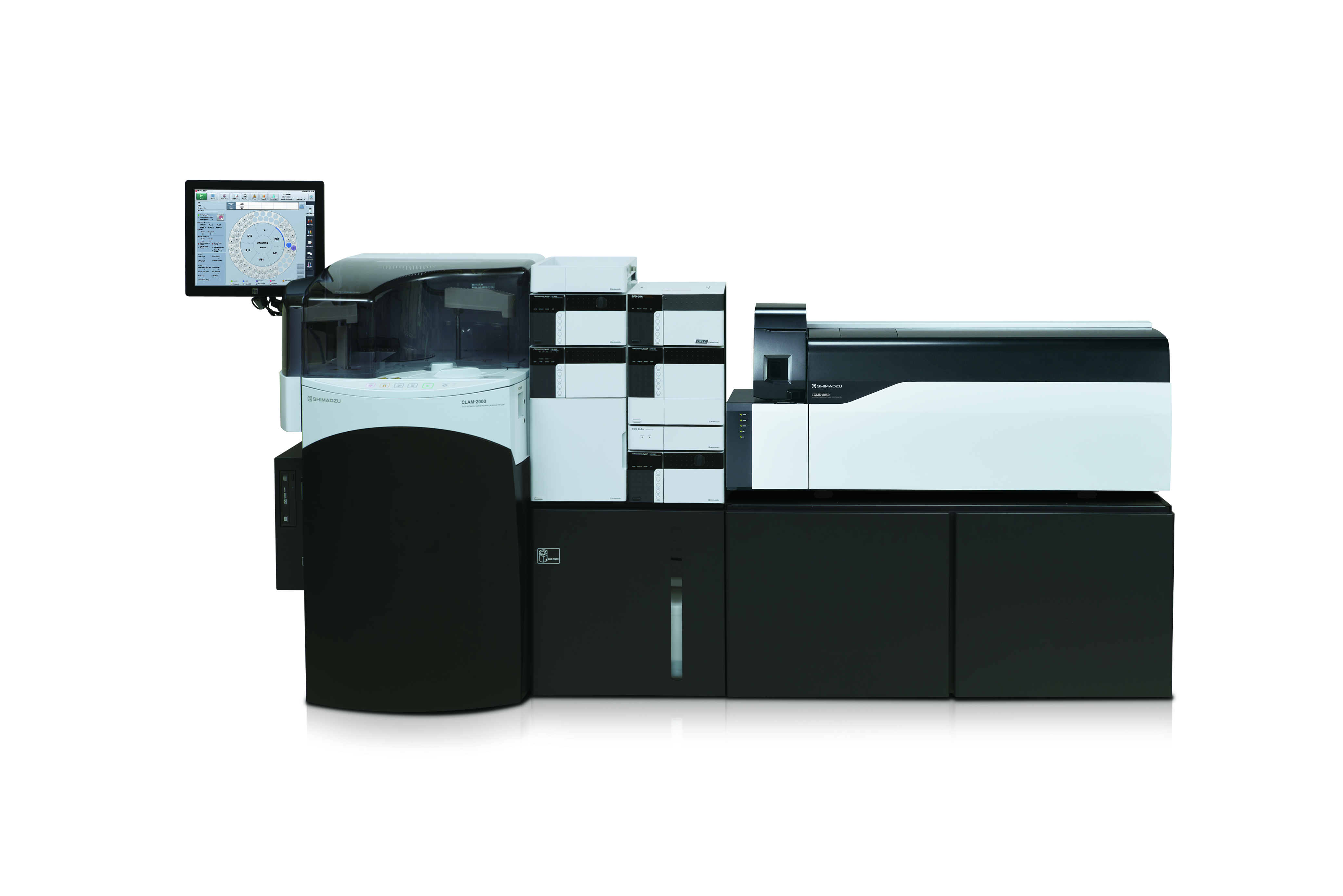 Fully automated sample preparation module for LCMS   SHIMADZU EUROPA